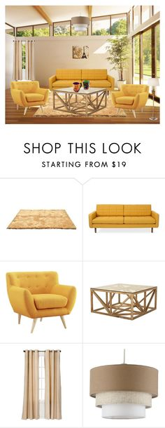 """""""''Interiror ''"""" by pepo-beckham ❤ liked on Polyvore featuring interior, interiors, interior design, home, home decor, interior decorating, Jayson Home, Eclipse and AERIN"""
