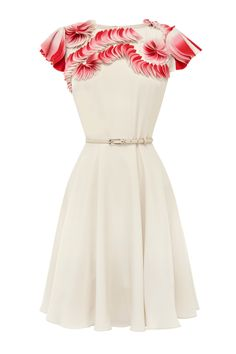 Coast Mycah Dress in Beige (naturals) | Lyst