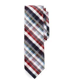 Brooks Brothers - Americana Plaid Slim Tie