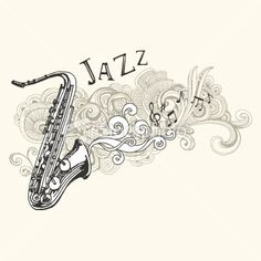 the Saxophone, an icon of the 1920's. everyone will be drawn to our posters with all kinds of iconic instruments