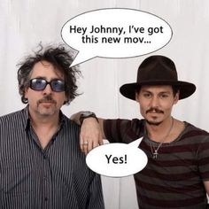 #timburton #johnnydepp