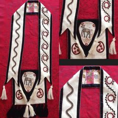 Bandolier bag I made for my daughter.  #bandolierbag #bandolierbags #choctaw #chickasaw #southeasternwoodlands #choctawnation #chickasawnation