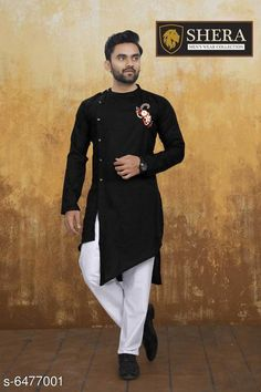 Kurta Sets Attractive Men's Wear Kurta set Top Fabric: Cotton Bottom Fabric: Cotton Sleeve Length: Long Sleeves Bottom Type: Straight Pajama Stitch Type: Stitched Pattern: Solid Sizes: XL (Chest Size: 45 in Top Length Size: 44 in Bottom Waist Size: 34 in Bottom Length Size: 42 in)  L (Chest Size: 43 in Top Length Size: 44 in Bottom Waist Size: 32 in Bottom Length Size: 42 in)  M (Chest Size: 41 in Top Length Size: 44 in Bottom Waist Size: 30 in Bottom Length Size: 42 in)  XXL (Chest Size: 47 in Top Length Size: 44 in Bottom Waist Size: 36 in Bottom Length Size: 42 in) Country of Origin: India Sizes Available: M, L, XL, XXL *Proof of Safe Delivery! Click to know on Safety Standards of Delivery Partners- https://ltl.sh/y_nZrAV3  Catalog Rating: ★4 (2556)  Catalog Name: Fashionable Men Kurta Sets CatalogID_1030940 C66-SC1201 Code: 368-6477001-