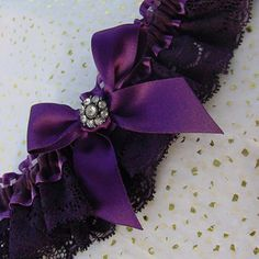 This luxury dark purple wedding garter is made with soft French lace gathered with sheer ribbon The centre of the garter is embellished with a large Purple Wedding Nails, Dark Purple Wedding, Wedding Nails For Bride, Bride Nails, Deep Purple, Casual Wedding Reception, Elegant Wedding, Dream Wedding, Wedding Ideas Do It Yourself