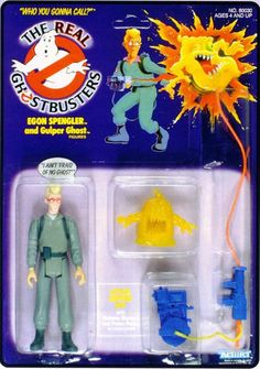 Ghostbusters Toy Archive: Egon Spengler