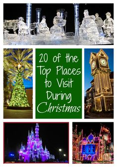 Might be time for a new Family Travel tradition ~ 20 of the Top Places to Visit During Christmas Time