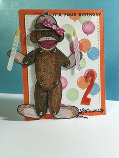 So you're 2, Birthday - Simon Says Stamp Card Kit www.simonsaysstamp.com/