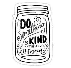 Do Something Kind Sticker