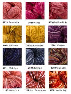 ABUELITA YARNS: Colors