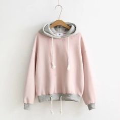 Letter print Hoodie Pink Blue White Letter Printed Collar Sweater Fashion Autumn Thick Warm Long Sleeve Casual Brand Please take a look at the size chart