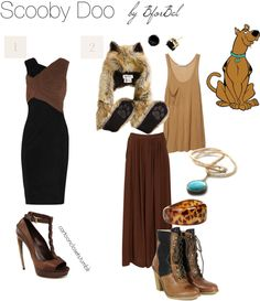 Scooby Doo inspired outfit.