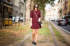 Via Viale Piave - Stella McCartney Shoes, Zara Skirt and Top and Proenza Schouler Bag.