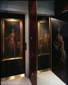 Room entrance UNA Hotel Vittoria Firenze