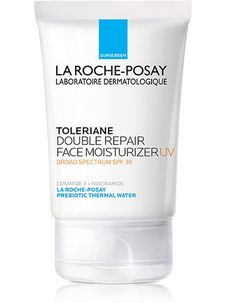 Purchase Toleriane Double Repair Facial Moisturizer with SPF on La Roche-Posay official boutique. Exclusive luxury products available with secure online payment Moisturizer For Sensitive Skin, Anti Aging Moisturizer, Moisturizer With Spf, Oily Skin, La Roche Posay, Facial Sunscreen, Protector Solar, Deep, Skin Cream