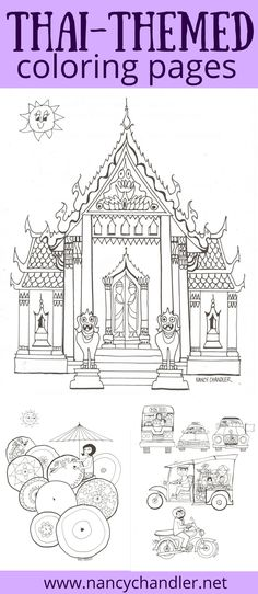 Nancy Chandlers Thailand Activity Book Is Available In Digital