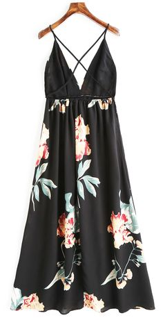 dresses v neck Maxi Dress With Sleeves, Floral Maxi Dress, Short Beach Dresses, Leather Dresses, Vintage Dresses, Dresses Dresses, Dresses Online, Tan Sandals, Spaghetti Straps