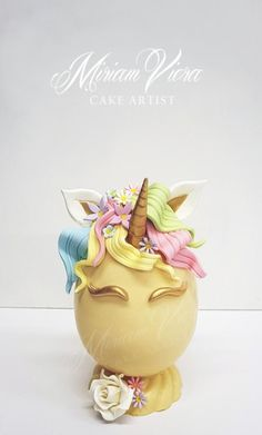 Easter egg unicorn theme - cake by Miriam Viera Chocolate Easter Cake, Unicorn Egg, Easter Cupcakes, Easter Egg Cake, Pinata Cake, Easter Egg Designs, Easter 2020, Easter Candy, Themed Cakes