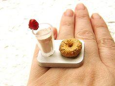 Adorable Tiny Food Rings – Fubiz Media
