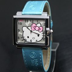 Hello Kitty Quartz Wristwatch Blue