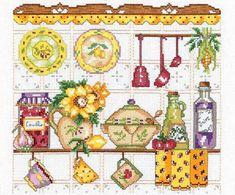 Como hacer cortinas bordadas para cocina