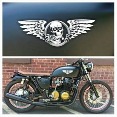 Honda CB750 '70 with Dime City Cycles parts