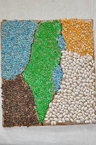 cool mosaic of the most awesome place in the world - Israel! do this one with your kids!!!