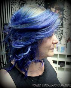 Katia Miyazaki Coiffeur - Salão de Beleza em Floripa: Hair Style - Hair Blue - Modelado - Cabelo Feminin...