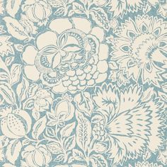 Sanderson - Traditional to contemporary, high quality designer fabrics and wallpapers | Products | British/UK Fabric and Wallpapers | Poppy Damask (DSOH215431) | Sojourn Wallpapers