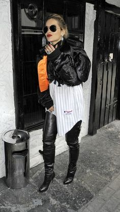 Singer Rita Ora arrives at Scotch of St James Members Club after her performance on BBC Radio 1 Live Lounge.