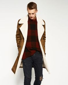 Image 3 of DOUBLE-FACED COAT from Zara