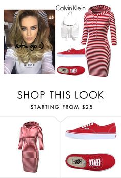 """""""lets :)"""" by dianamohmed on Polyvore featuring Vans, Rebecca Minkoff and Calvin Klein"""