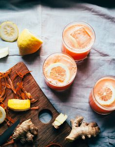carrot ginger lemonade