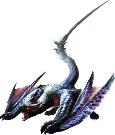MH3U Lucent Nargacuga. One of my favorites though I don't really enjoy fighting him.