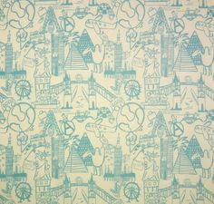 Destination colour Powder Blue. Find this and other great fabrics at www.curtaineasy.co.nz Color Powder, Curtain Fabric, Pegasus, Pattern, Fun, Fabrics, Fictional Characters, Colour, Collection