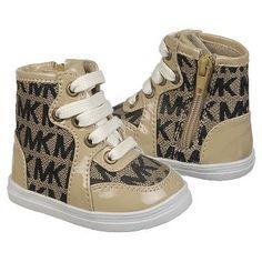 Kids MICHAEL MICHAEL KORS ' Baby Ivy High Artic Camel Shoes.com