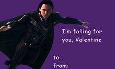 """myhoneymoontour: """"Tag your valentine ❤️🌹""""Make love, not war. Unless you're Loki, in which case: do what you want!"""" """"Let's make some mischief together. Meme Valentines Cards, Bad Valentines, Pick Up Lines Cheesy, Pick Up Lines Funny, Funny Pick, Luv Letter, Im Falling For You, Marvel Cards, Disney Nerd"""
