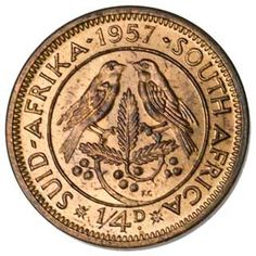 South Africa ¼-PENNY (KM44) Old Coins Value, Old Coins Worth Money, Sell Coins, Postage Stamp Collection, Coin Display, Coin Worth, Coin Values, Mind Set, World Coins