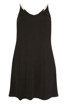 Primark - Ausgestelltes Kleid mit Ketten