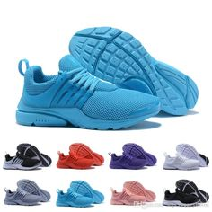 ae21650b940 Top quality Prestos 5 Running Shoes mens womens Black Blue 2019 new Prestos  V 5 Breathable designer Sneakers chaussures Size US 5.5-12