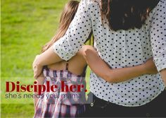 What if an entire generation of moms committed to raising their daughters to follow God passionately? Ladies, we would change the world. http://discipleher.com/