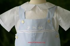 Feltman Brothers Boys Shortall - Smocked and Classic Children's Clothes - FREE SHIPPING on Every Order at Jollyrompers.com