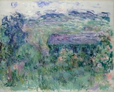 Claude Monet, La maison à travers les roses,...