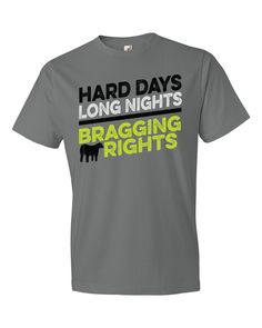 Livestock Showgirls  - Bragging Rights Tee, $19.99 (http://www.livestockshowgirls.com/bragging-rights-tee/)