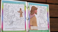 Tell Me the Stories of Jesus: a reading, coloring and activity book about the life of the Savior. Great for ages 3-8.