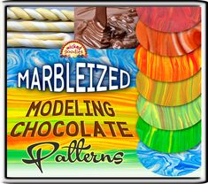 Modeling chocolate making basics with an overview of how it is made, shaped and rolled including a comparison of how it performs using different types of chocolate Modeling Chocolate Recipes, Types Of Chocolate, Chocolate Molds, Chocolate Videos, Chocolate Making, Chocolate Art, Owl Cakes, Cupcake Cakes, Fruit Cakes