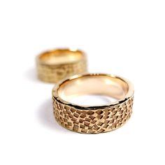 gold wedding rings / złote obrączki ślubne ...