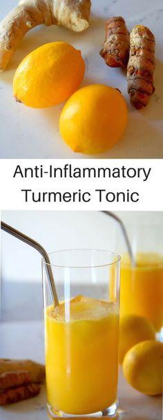 Anti-Inflammatory Lemon Turmeric Tonic – Medi Idea