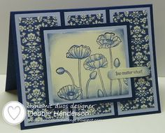 Dynamic Duos Challenge #54. Stampin' Up! products by Debbie Henderson, Debbie's Designs