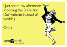 I just spent my afternoon shopping the Stella and Dot website instead of working. Oops.