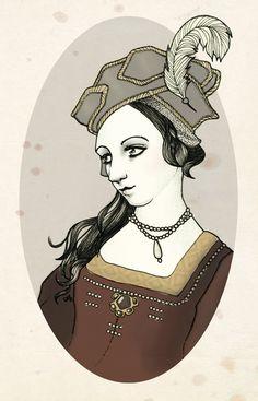Anne Boleyn   by Grey_Summer